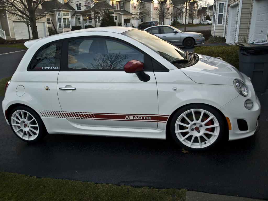 Abarth Decal Removal